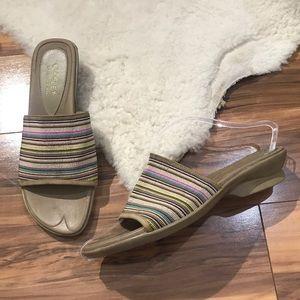 💎 Liz Flex Rainbow Elastic Comfort Slides 10M